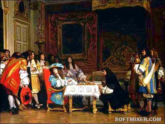 Завтрак Людовика XIV