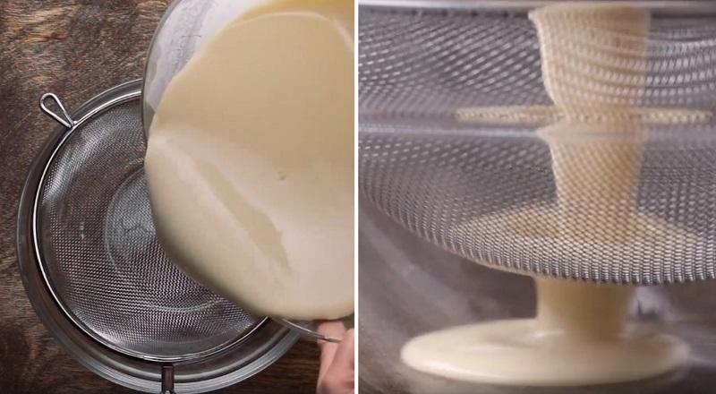 торт из готовых блинов