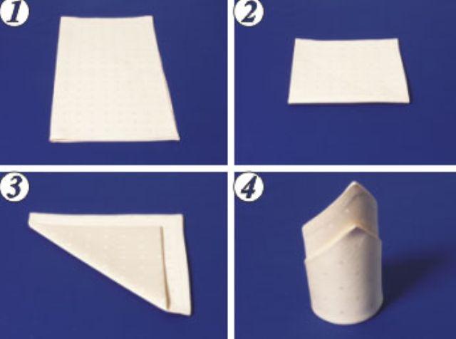 Как красиво сложить салфетки в стакан: фото, инструкция для дома и дачи,мастер-класс