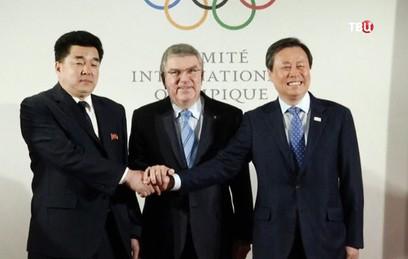 Делегация КНДР впервые за четыре года прибыла в Южную Корею