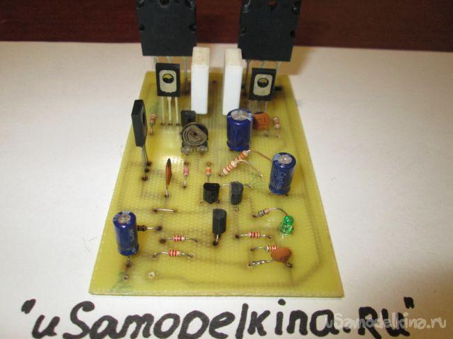 Транзисторный усилитель мощности на 100 Ватт