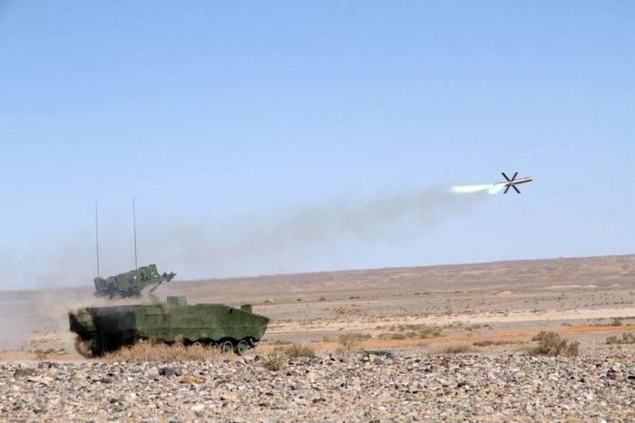 Китай продемонстрировал новые противотанковые ракеты
