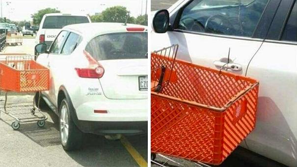 Как научит кретина правильно парковаться