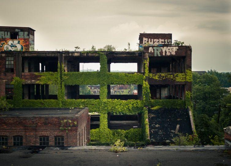 Атмосферные заброшки, которые придутся по душе любителям «Сайлент-Хилла» заброшки,США,урбанистика