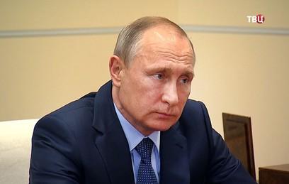 Путин поблагодарил Израиль за осуждение сноса памятников советским солдатам
