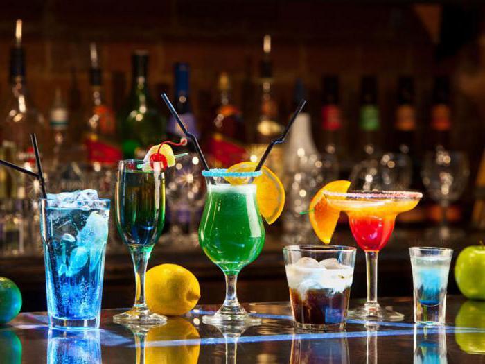 Спиртные напитки. Какие бывают коктейли