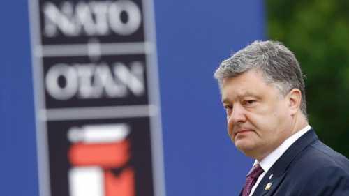 Новая морковка от Порошенко - вступление в НАТО (превращение укропов в пушечное мясо НАТО)
