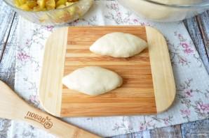 Пирожки со сливами духовые - фото шаг 8
