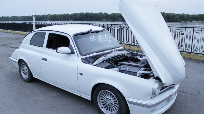 Уникальное купе ГАЗ М-20 Победа с 2.5-литровым двигателем от BMW 525