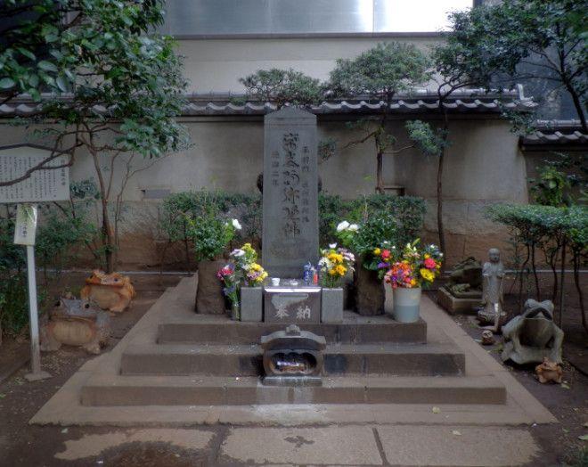 Таира но Масакадо могила вызывающая страх даже у властей
