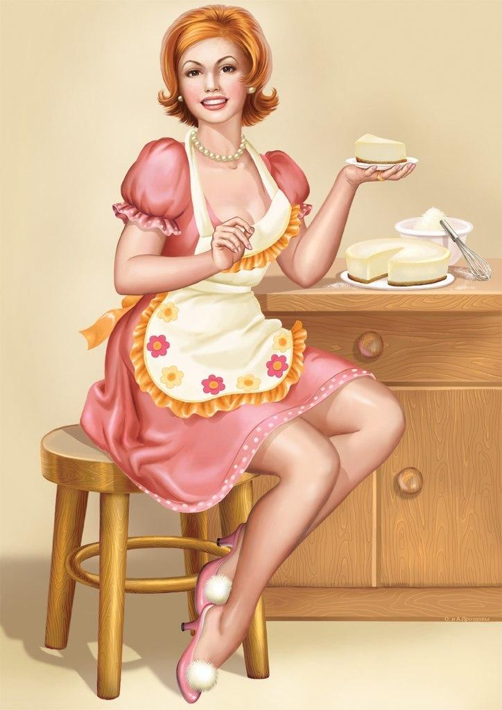 Какая, прикольные картинки жены домохозяйки