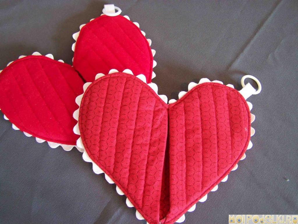 Прихватки для влюбленных