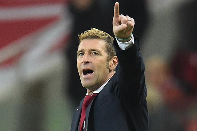 Массимо Каррера уволен с поста главного тренера футбольного клуба