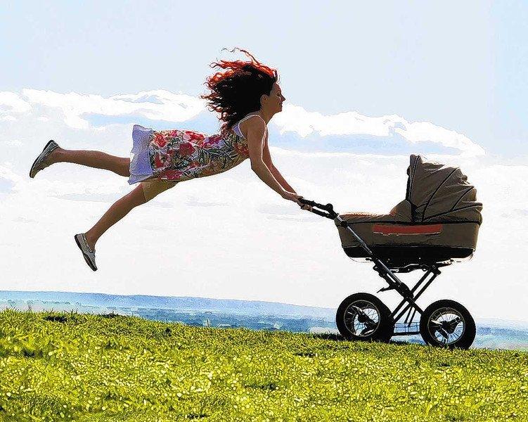 зачетке как сделать фото с коляской в прыжке может