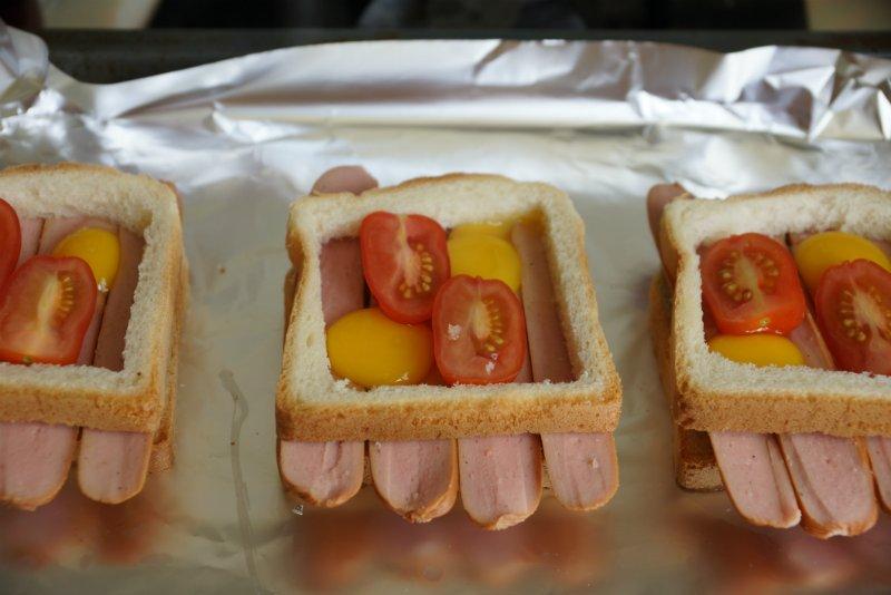 они смогут бутерброд с сосиской фото муж