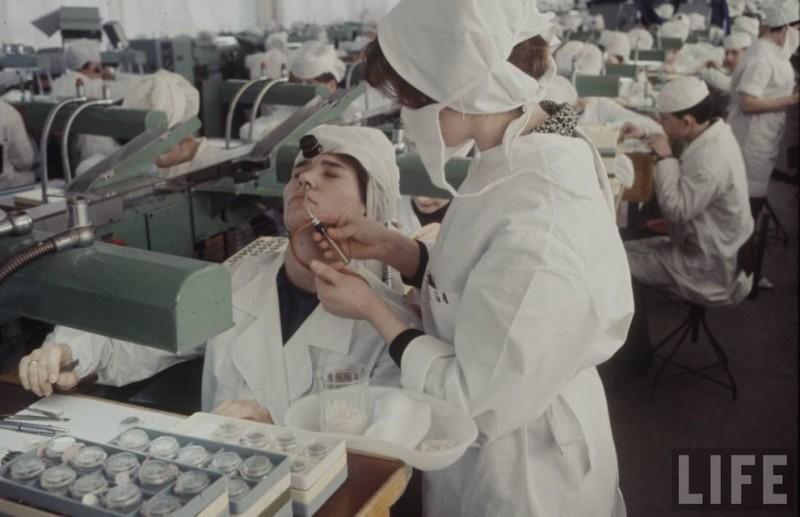 Советская медицина на страни…