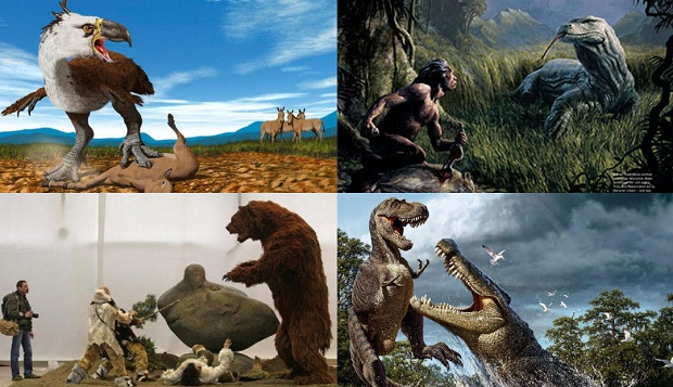 Самые ужасные доисторические предки современных животных