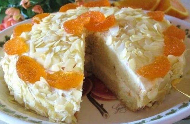 диетический постный торт