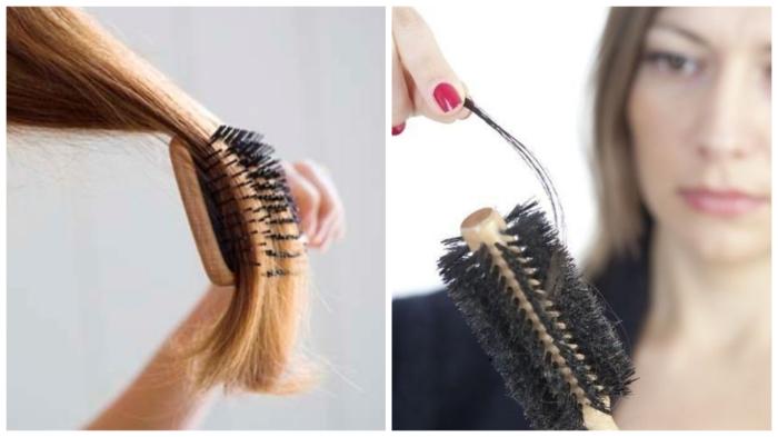 В сутки выпадает около 150 волосков у здорового человека.