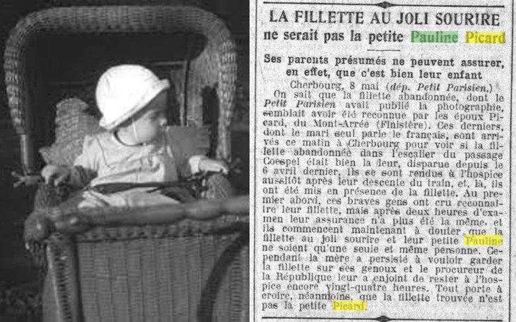 История исчезновения двухлетней Полин Пикар