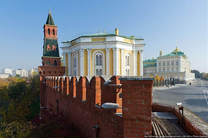 Прогулка по Кремлю, ч.1.