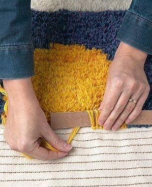 Делаем коврики в разных техниках: мастер-класс вдохновляемся,рукоделие