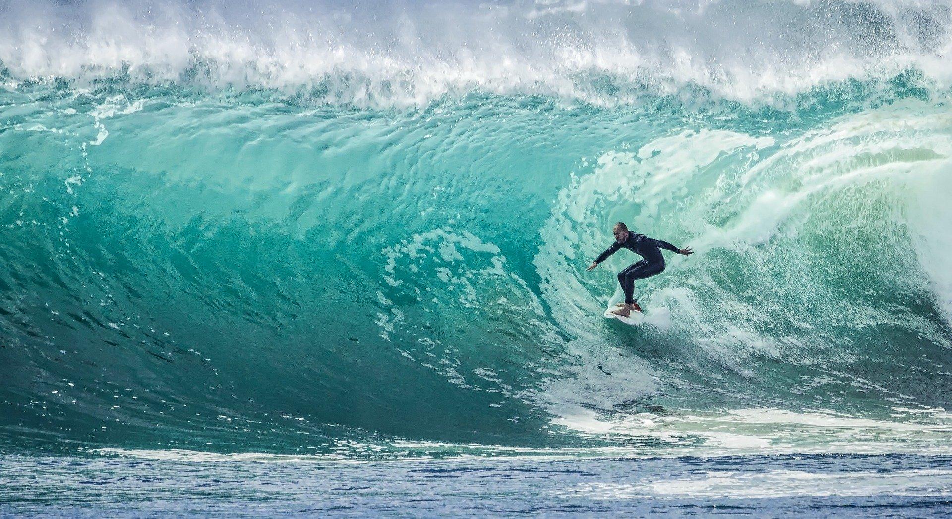 Лови волну: 5 мест для сёрфинга в России отдых,путешествия,туризм,шок