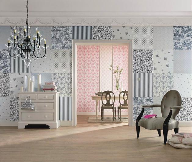 Гостиная, холл в цветах: желтый, серый, светло-серый, белый, бежевый. Гостиная, холл в стиле французские стили.