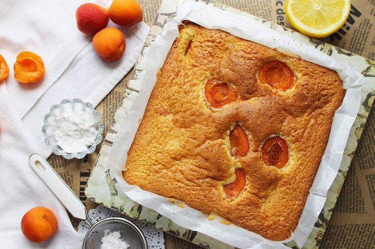 Пирог с абрикосами «Австрийский» — нежный и очень вкусный