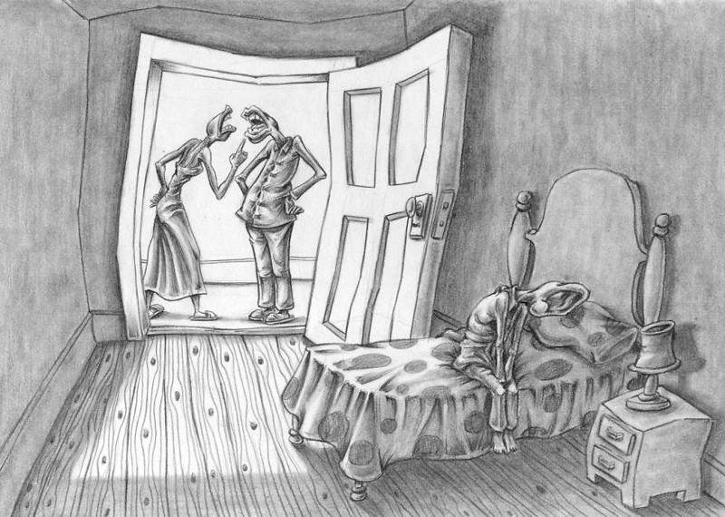 Картинки и карикатуры человека в одиночестве