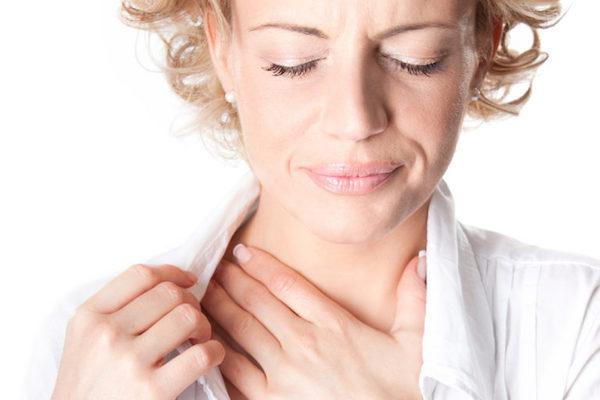 Если горло заболело