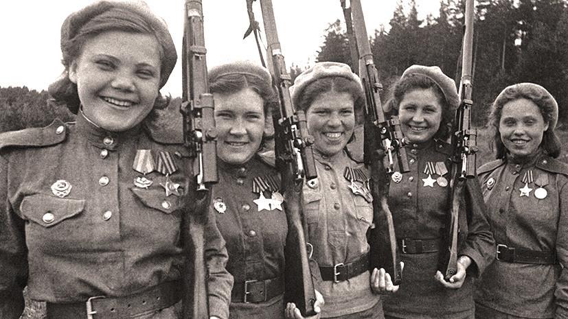 Из-за наших женщин они еще больше ненавидят Россию... и боятся!