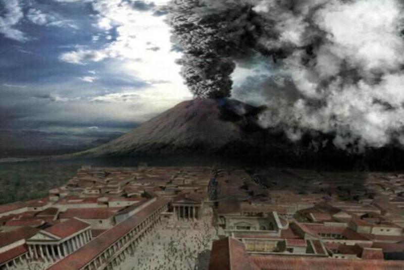 Археологи рассказали, как погибли жители Помпея во время извержения Везувия