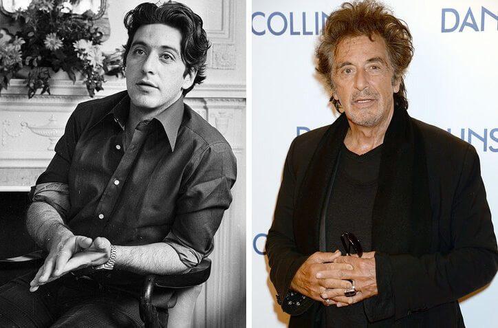 Как стареют знаменитости. До и После