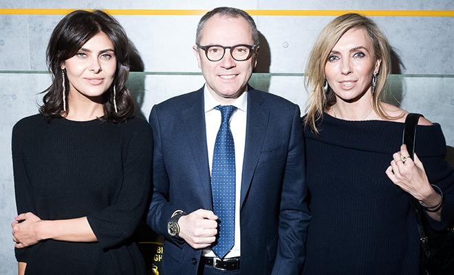 Светлана Бондарчук, Надежда Оболенцева и другие на презентации Lamborghini в Москве