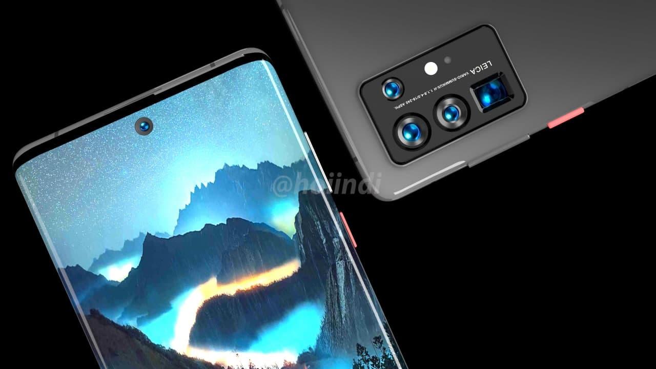 В сети появились изображения флагмана Huawei P50 Pro с экраном-водопадом новости,смартфон,статья