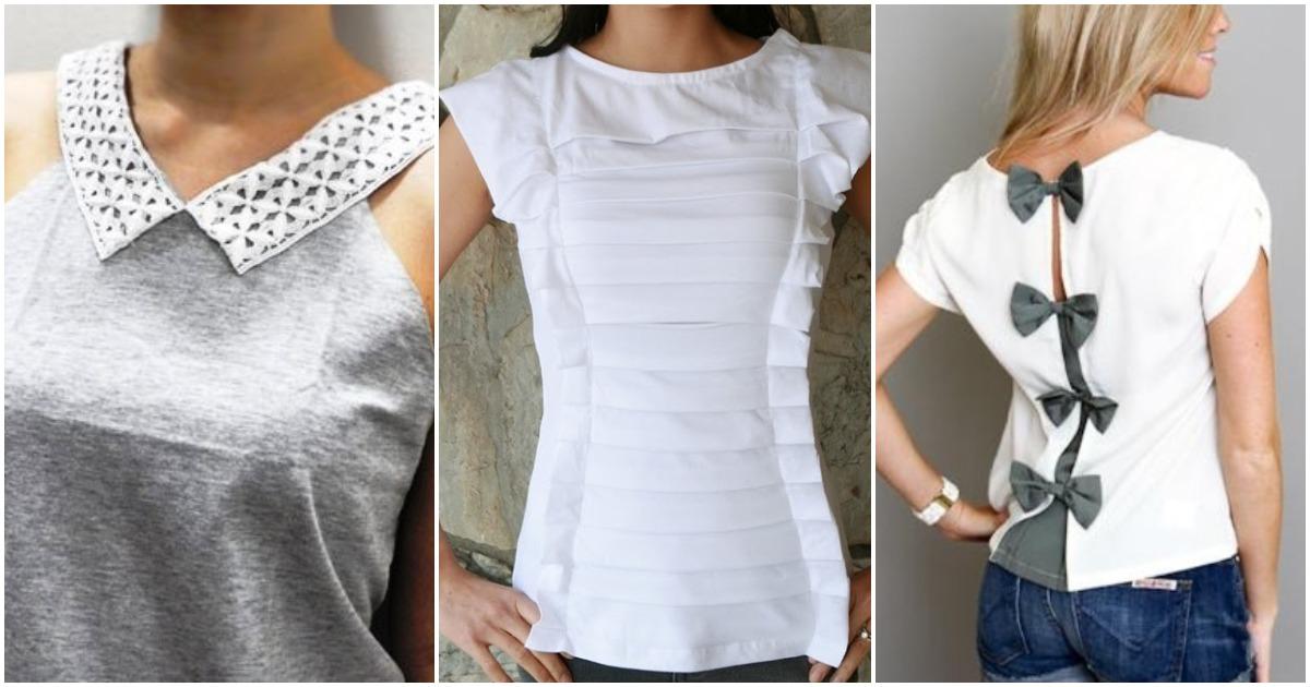 Старая футболка может положить начало творческому проекту. Несколько интересных идей
