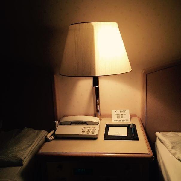 5. Удобные прикроватные лампы в отеле интересно, путешествия, удивительно, япония