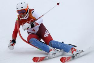 Швейцарка Гизин выиграла золото в суперкомбинации на Олимпиаде