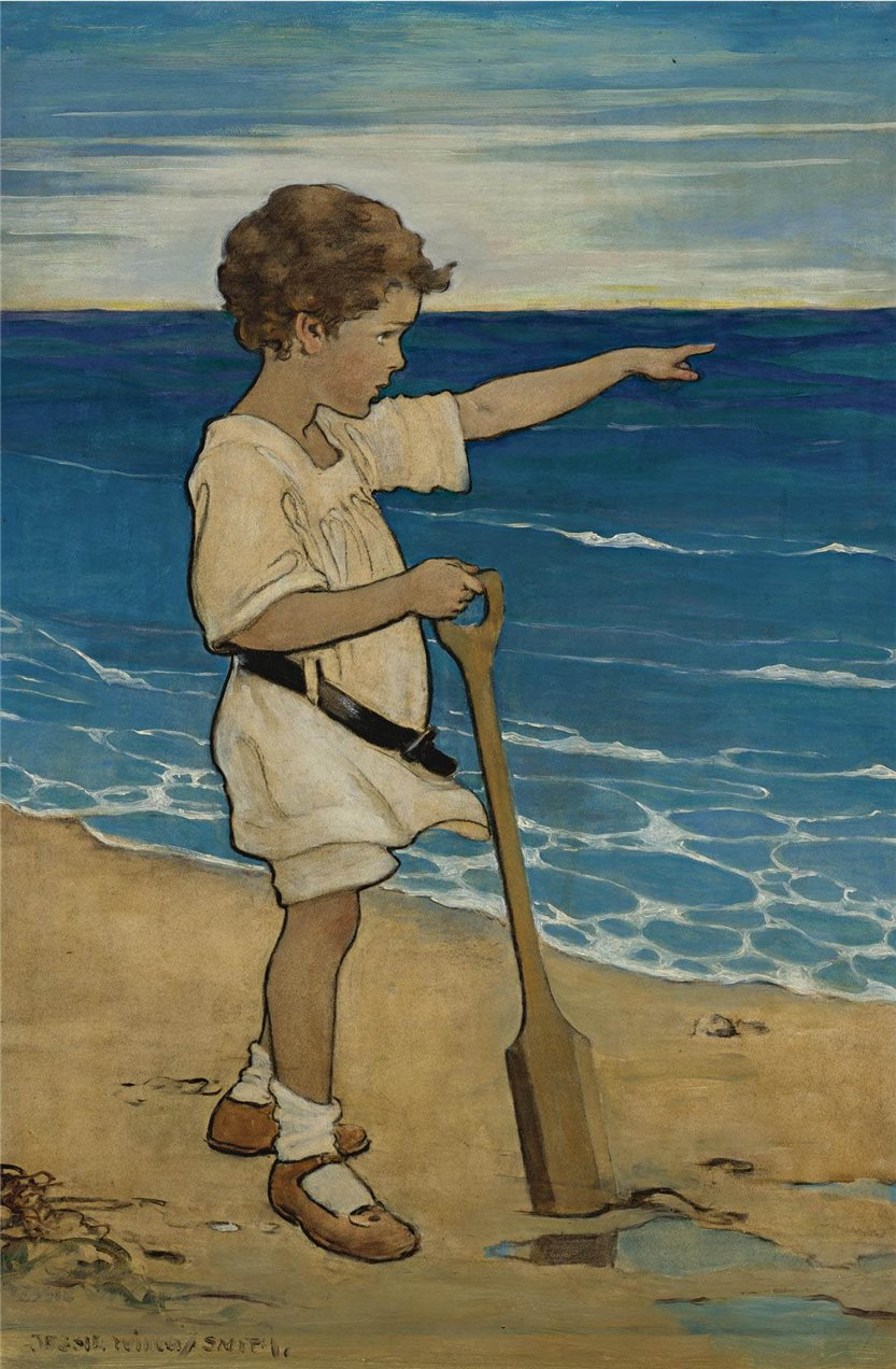 Добрых книжек простые истины.Пусть порой возвращают в детство... Джесси Уилкокс Смит. Американская художница-иллюстратор 1863-1935