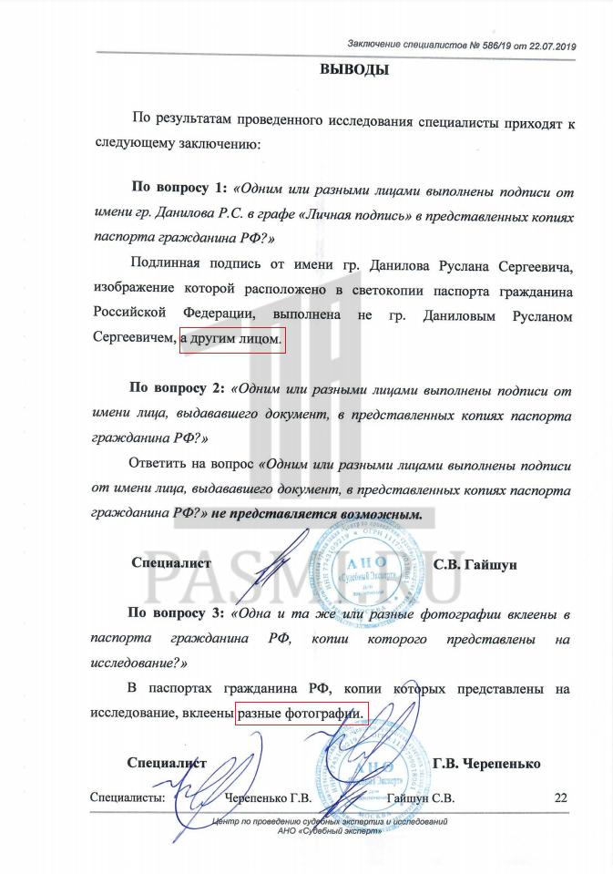 Чудеса в арбитражах — судья не видит фальшивых паспортов и поддельных подписей россия