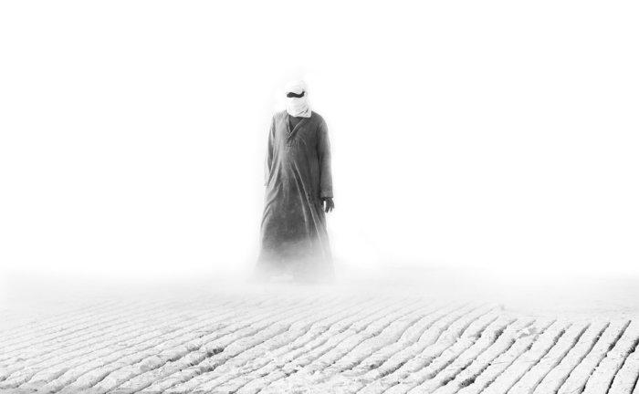 Добыча белого кирпича в удалённом регионе Верхнего Египта. Автор фотографии: Анас Камаль.