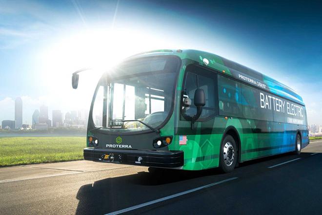 Электрический автобус Proterra установил мировой рекорд по дальности