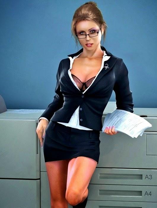 Анекдоты о секретаршах