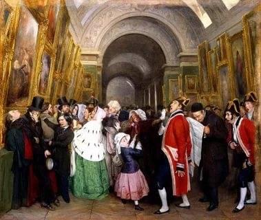 Парижские салоны и батальный жанр во французской живописи