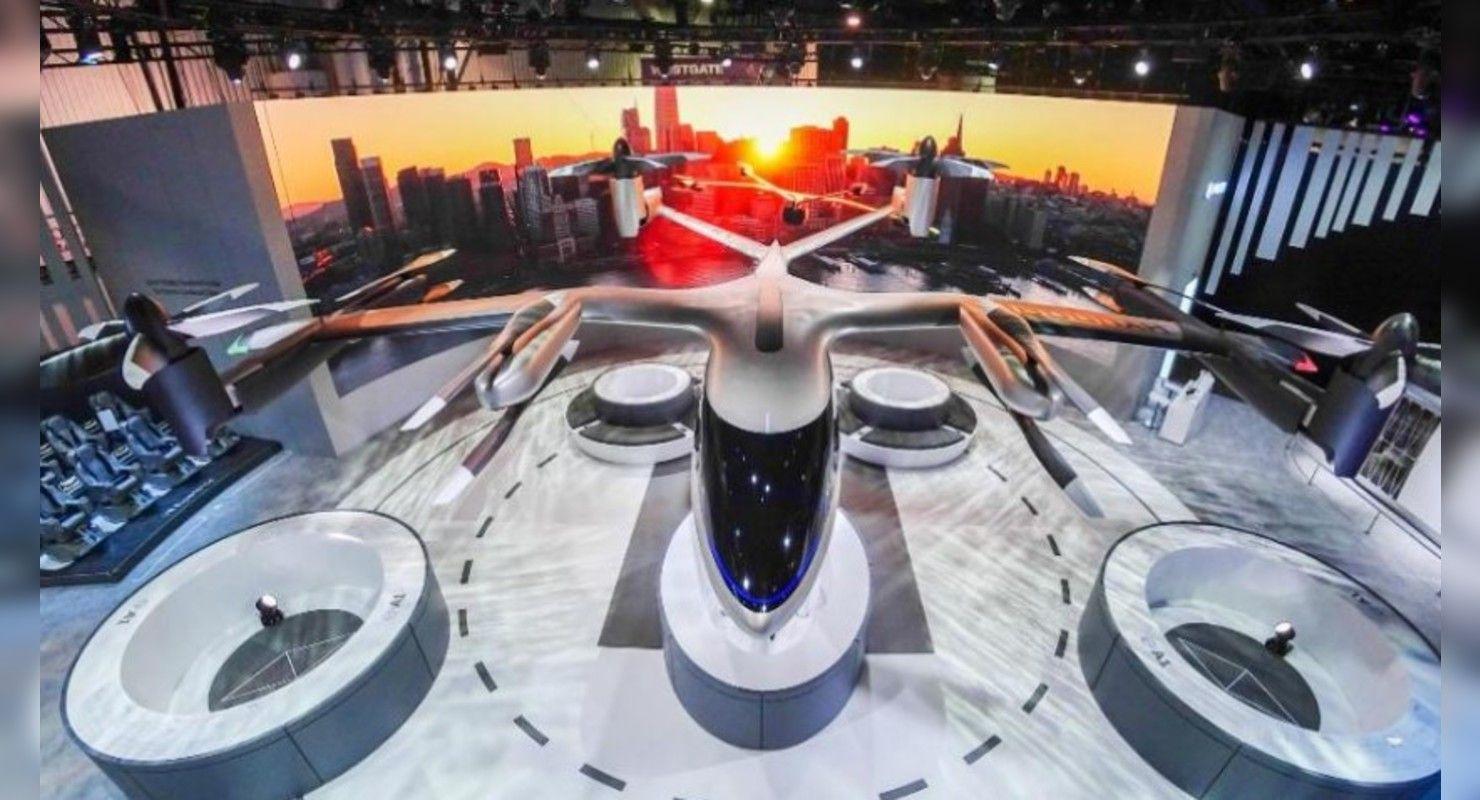 Компания Hyundai примет участие в строительстве в Великобритании порта для летающих такси Технологии