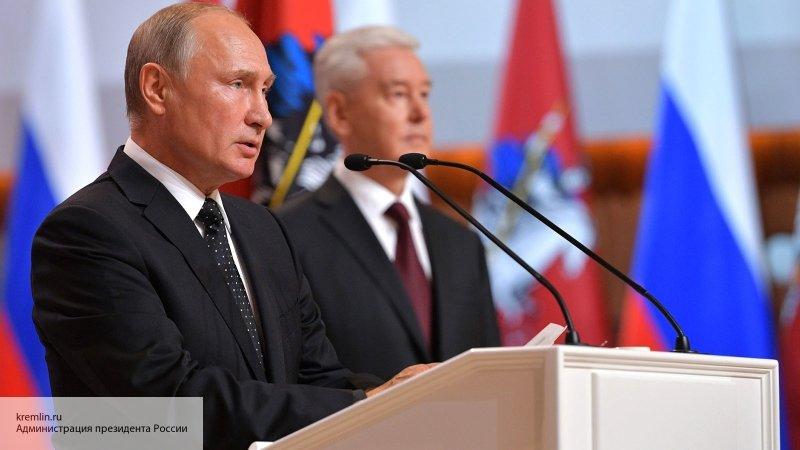 Путин призвал избранных губе…