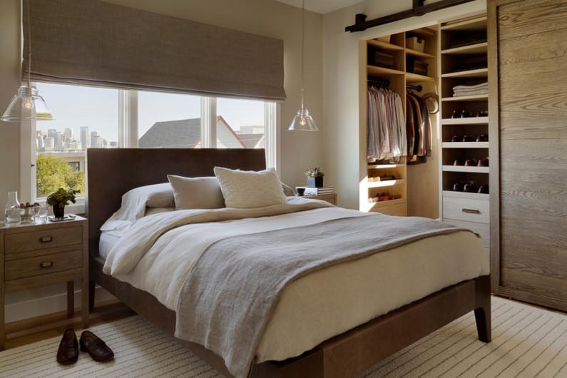 гардеробная спальня 7