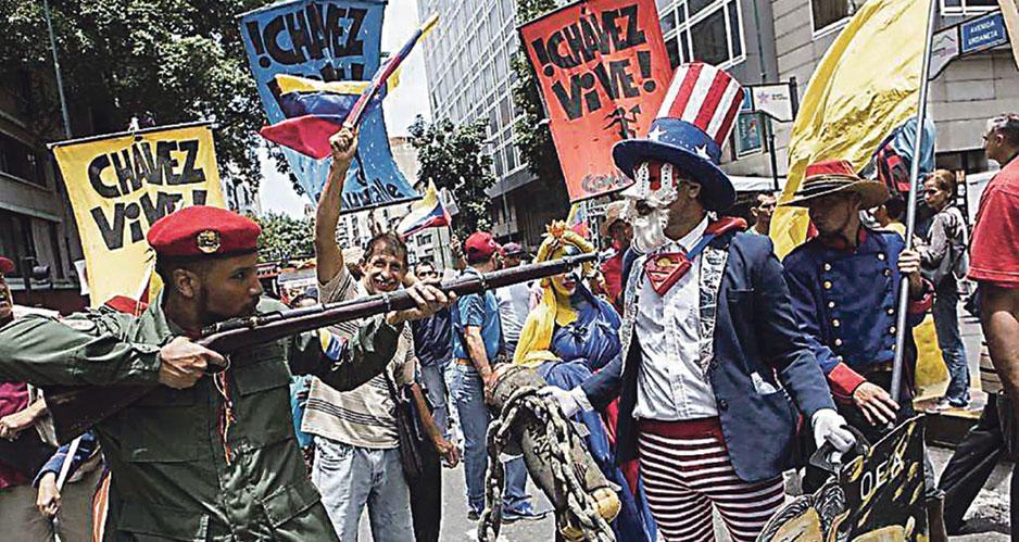 Заветы Чавеса, ракеты наши
