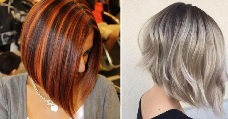 Пора освежить каре: 18 стильных вариантов мелирования коротких волос.